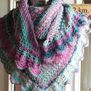 Hawaiian Garden Shawl