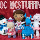 Doc McStuffins, Chilly, Hallie, Stuffy and Lambie