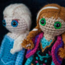 Ana and Elsa Dolls from Disney's Frozen