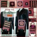 How to make a bag out of 3 Granny Squares