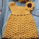 Sunflower Dress -Toddler Dress
