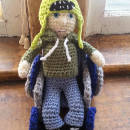 Crocheted People Doll