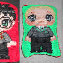 Harry Potter Draco Malfoy pillow