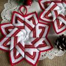 Star Pot Holder Crochet Pattern