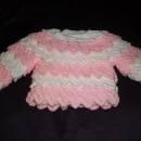frilled jumper