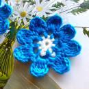 Crochet Flower Embellishment