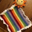 Handmade Crochet Sunshine Comfort Blanket