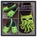 Custom Made Cthulhu Inspired Slippers