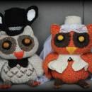 Bride & Groom Owls