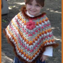 Autumn Crochet Poncho