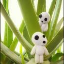 Kodama Amigurumi - Studio Ghibli - La Calabaza de Jack