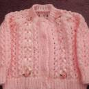ribbon and lace cardigan