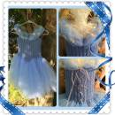 2015 Cinderella Inspired Crochet Tutu Dress