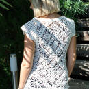 Crochet White Top Pattern