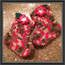 Raspberry Trifle Slipper Boots