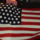 Grand old flag blanket