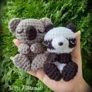 Napping Nature~Koala & Panda
