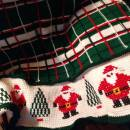 Santa Plaid Afghan