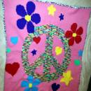 Peace Flowers Graphghan