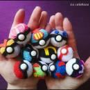 Pokeballs amigurumis - Pokemon - La Calabaza de Jack