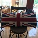 England Flag Pillow