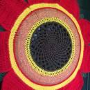 Red Sunflower Wreath