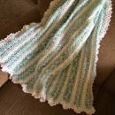 Crocheted Mile a Minute Baby Blanket