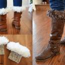 Fur-Top Boot Cuffs