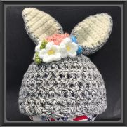 Newborn Bunny Hat