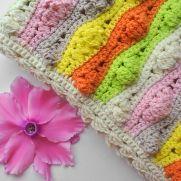 Crochet Wave Blanket Pattern