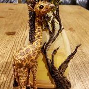 Crochet Giraffe Vase