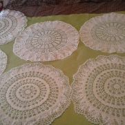 Wedding doilies
