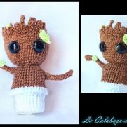 Groot Amigurumi (Guardians of the Galaxy, Marvel)
