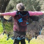 Butterfly Hippie Vest