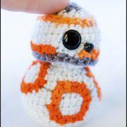 BB8 Amigurumi - Star Wars - La Calabaza de Jack