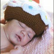 Baby cupcake Hat - La Calabaza de Jack