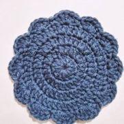 Flower Crochet Coaster
