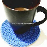 Simple Crochet Coaster