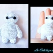 Little Baymax Amigurumi (Big Hero 6)