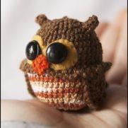 Owl Amigurumi - La Calabaza de Jack