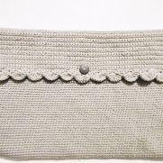 Crochet Laptop Bag