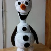 Olaf the snowman from Frozen