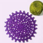 Easy Crochet Doily Coaster