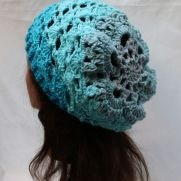Slouch Hat in Lion Brand Mandala Spirit