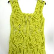 Lime Green Pineapple Top