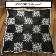 Deathflake - Tunisian Afghan in the round
