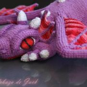 Purple Dragon Crochet