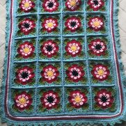 Painted Roses Blanket