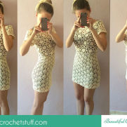 White Lace Dress Photo Tutorial