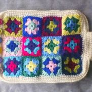 Hot Water Bottle Cosy...Granny-style